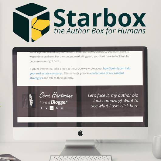 Starbox - Author Box Plugin for Wordpress Blogs
